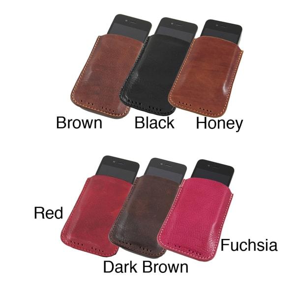 Alberto Bellucci Torino Leather Smartphone Holder