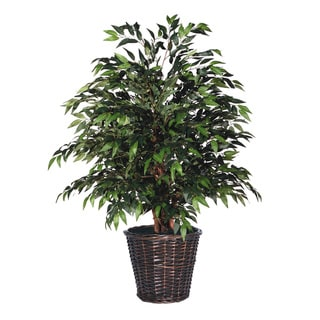 4-foot Extra Full Green Smilax Decorative Plant
