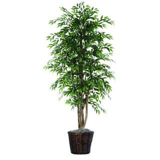 Smilax Executive 6-foot Silk/ Polyester Decorative Plant