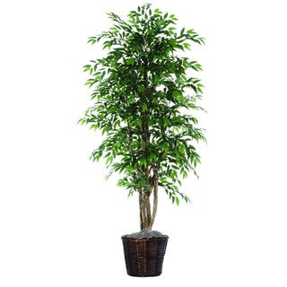 Smilax Executive 6-foot Silk/ Polyester Decorative Plant