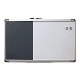 Quartet Magnetic Dry-Erase/ Foam Bulletin Board (18x30)