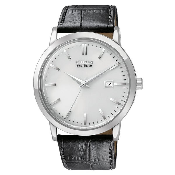 Citizen Men's Stainless Steel Eco-Drive Date Watch