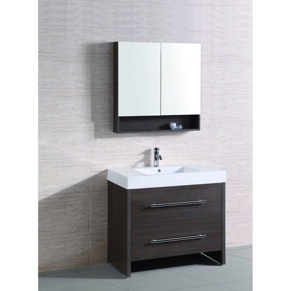 Single Sink Vanity 35-inch