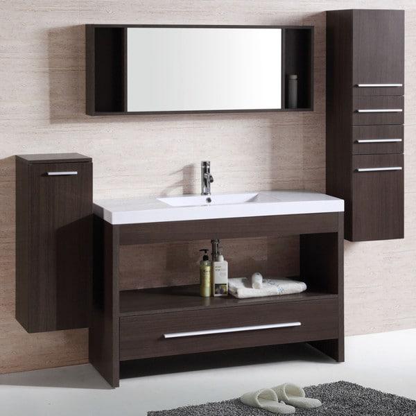 65 Inch Bathroom Vanity Single Sink: Single 47-inch Sink Vanity