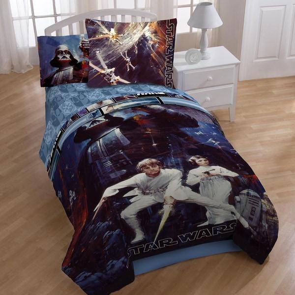 Star Wars 'Saga' 4-piece Bed in a Bag with Sheet Set