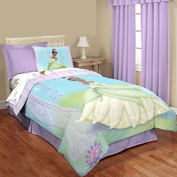Princess And The Frog Vine Twin 4 Piece Bed In A Bag With Sheet Set