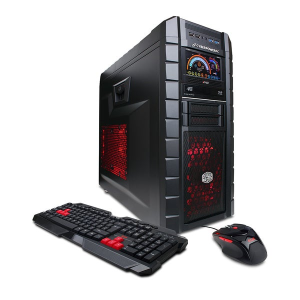 CYBERPOWERPC Gamer Aqua GLC2200 Intel Core i7-3770K 3.50 GHz Liquid Cool Gaming Computer