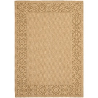 Safavieh Natural/ Gold Indoor Outdoor Rug