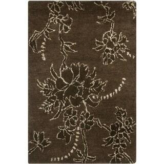 Safavieh Handmade Soho Fall Brown New Zealand Wool Rug (2' x 3')