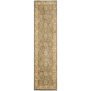 Safavieh Oushak Heirloom Traditional Grey/ Cream Runner Rug (2'3 x 8')