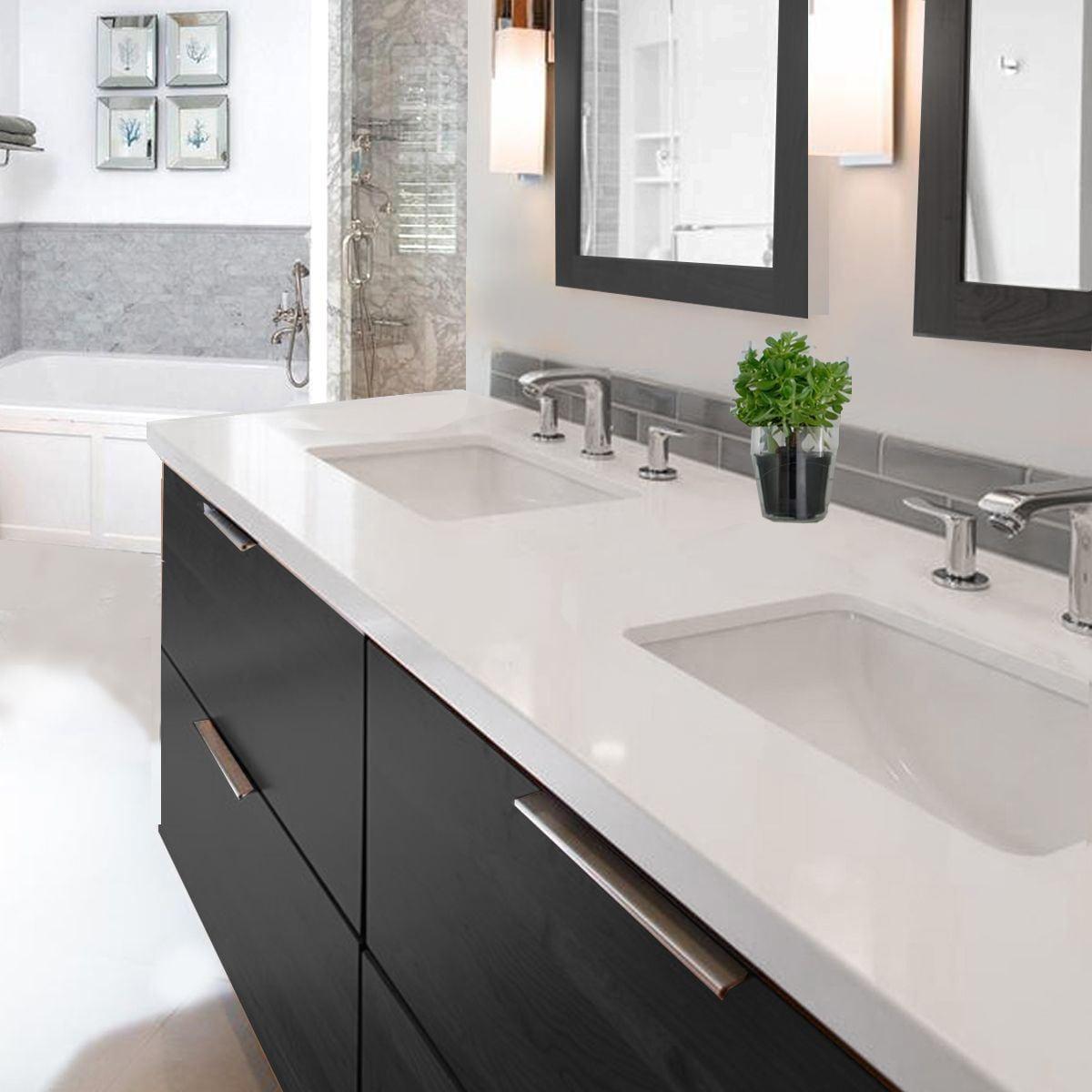 001 Small 16x11 5 Mexican Bathroom Sink Ceramic Drop In Undermount Basin Sinks Home Plumbing Fixtures