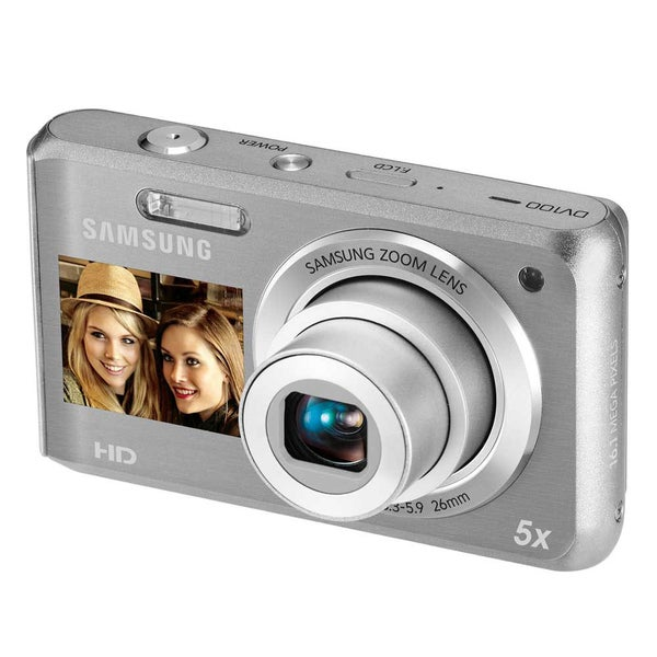 Samsung DV100 Dual View Silver Digital Camera