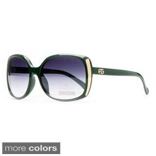 Anais Gvani Women's Metal-Accent Classic Square-Frame Sunglasses