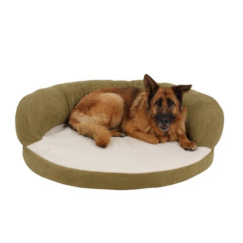 Carolina Pet Sage Ortho Sleeper Bolster Pet Bed