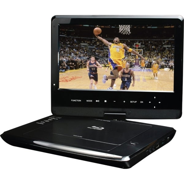 "Ziotech BDP-M1061 Portable Blu-ray Player - 10.1"" Display"