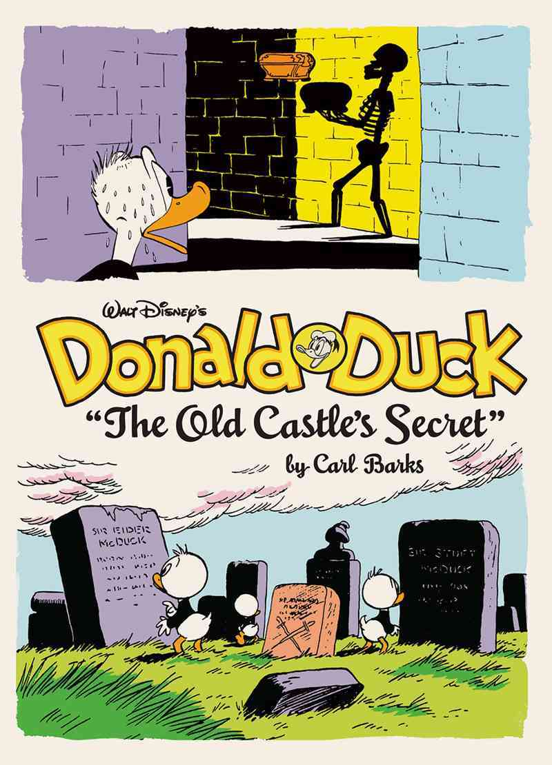 Walt Disney's Donald Duck: The Old Castle's Secret (Hardcover)
