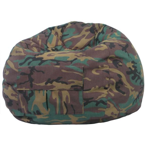 Gold Medal Cargo Pocket Camouflage Denim Look Medium/ Tween Bean Bag