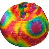 Shop Ahh Products Rainbow Tie Dye Cotton Washable Bean Bag