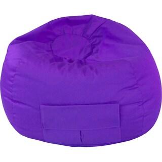 Gold Medal Cargo Pocket Purple Denim Look Medium/ Tween Bean Bag