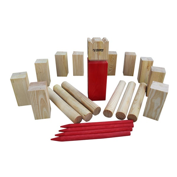 Kubb Outdoor Game Free Shipping Today