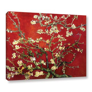 Vincent van Gogh 'Red Blossoming Almond Tree' Canvas