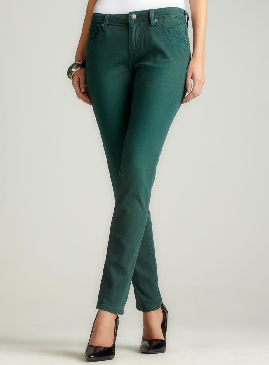 Vigoss Skinny Jean In Green