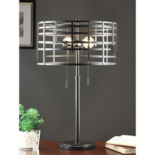 Charmant Renate Spiral Round Table Lamp
