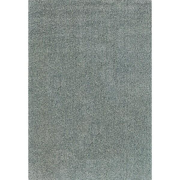 Blue Casual Indoor Shag Area Rug