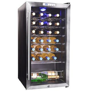 NewAir 27 Bottle Compressor Wine Cooler|https://ak1.ostkcdn.com/images/products/7411438/P14866533.jpg?impolicy=medium