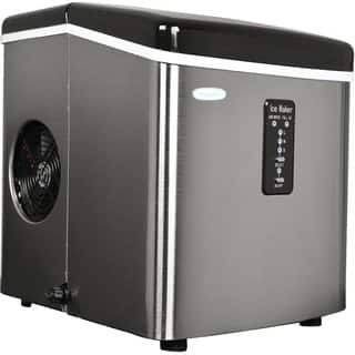 NewAir Appliances Stainless-Steel Portable Ice Maker|https://ak1.ostkcdn.com/images/products/7411442/P14866536.jpg?impolicy=medium