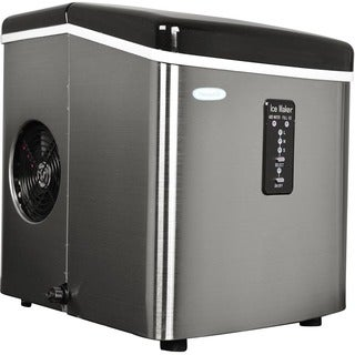 NewAir Appliances Stainless-Steel Portable Ice Maker
