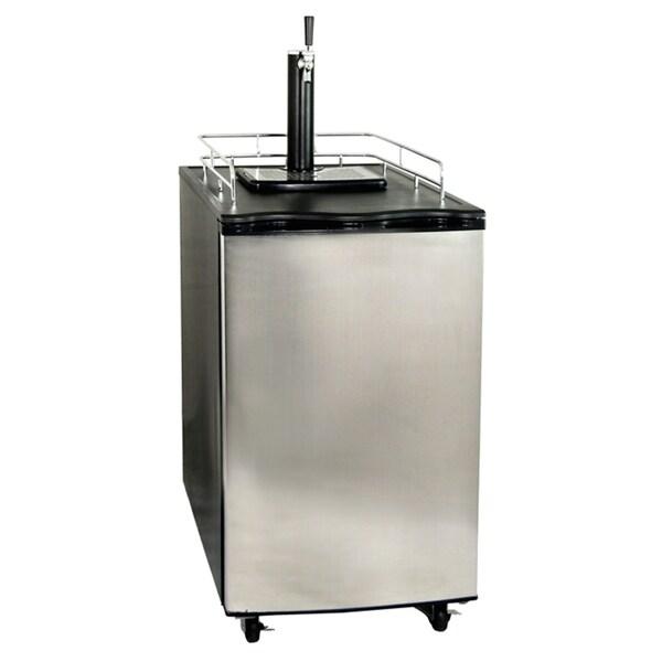 Newair Appliances Stainless Steel Single Tap Beer