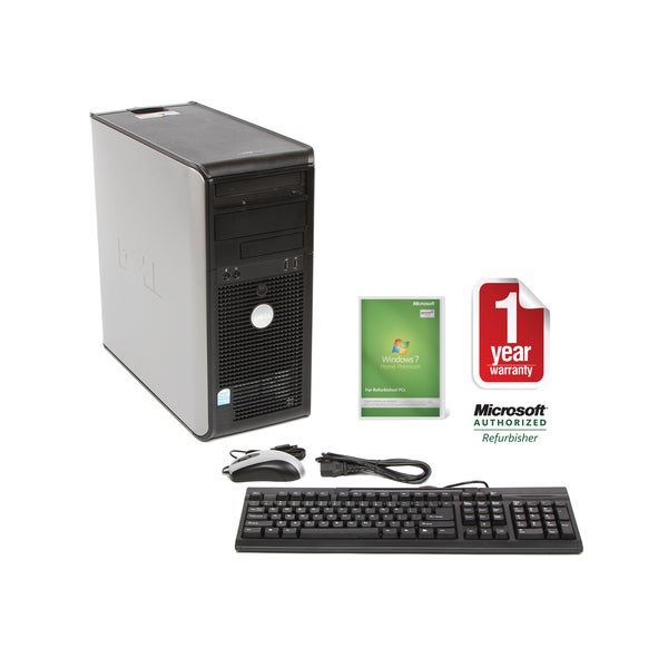 Dell GX620 2.8GHz 80GB MT Computer (Refurbished)
