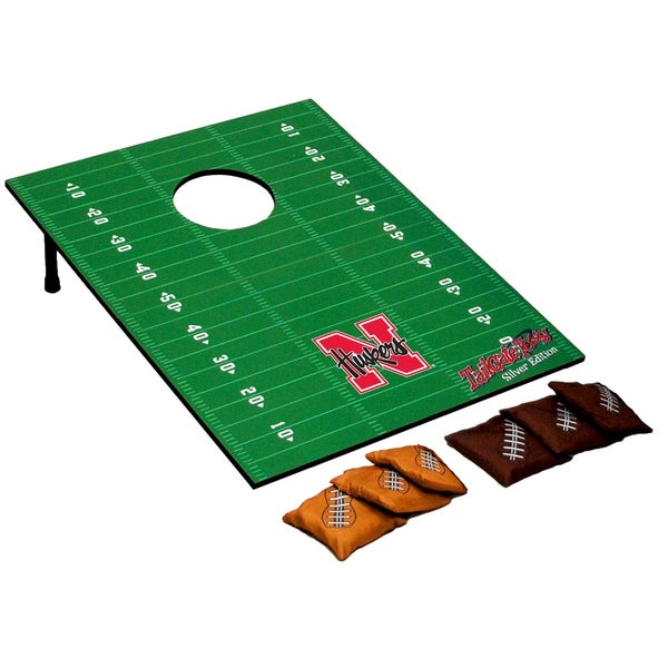 NCAA Team Tailgate Toss Silver