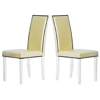 Warehouse of Tiffany Cream Dining Chairs (Set of 8)