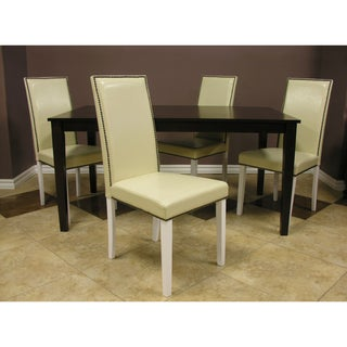 Warehouse of Tiffany Cream 5-piece Dining Set
