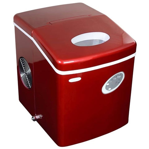 NewAir Appliances Red Portable Ice-maker