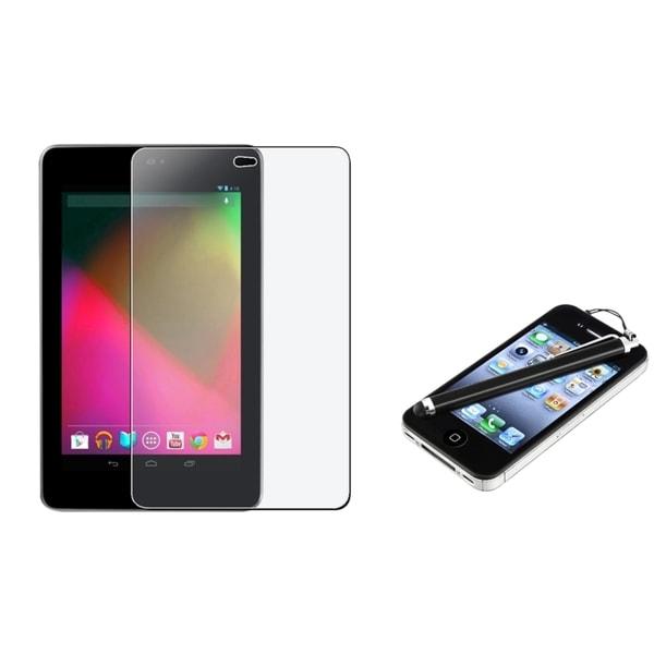 INSTEN Clear Screen Protector/ Stylus for Google Nexus 7