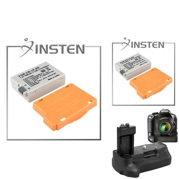 Battery Grip/ INSTEN Battery for Canon EOS Kiss X5 Rebel T3i