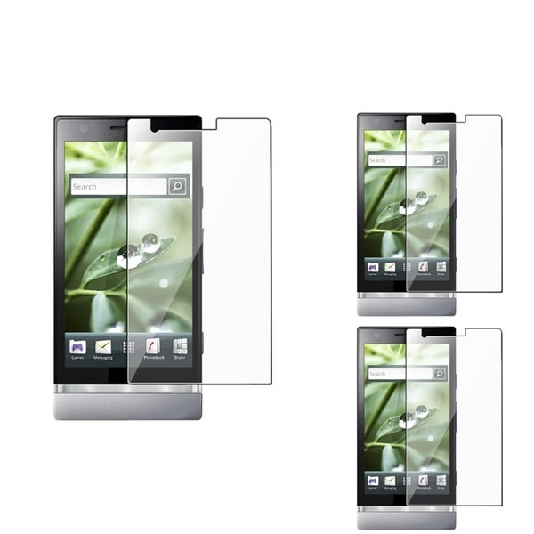 BasAcc Screen Protector for Sony Xperia P LT22i (Pack of 3)
