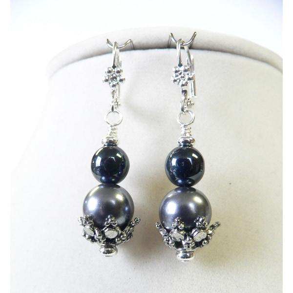 'Rayna' Duotone Pearl Earrings