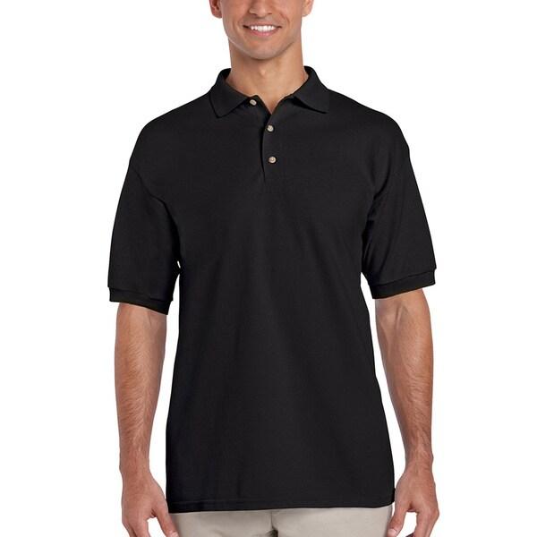 Men's Cotton Short Sleeve Polo Shirt - Overstock - 7411787