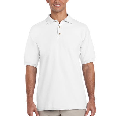 77aae7dd22b7 Buy White Casual Shirts Online at Overstock | Our Best Shirts Deals