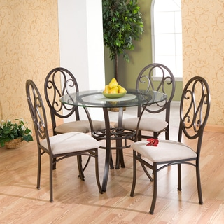 Harper Blvd Lucianna Brown/ Beige Chairs (Set of 4)