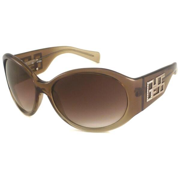 Guess Women's GU6447ST Oval Sunglasses