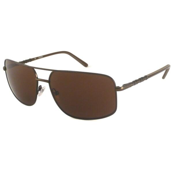 Guess Men's GU6595 Aviator Sunglasses