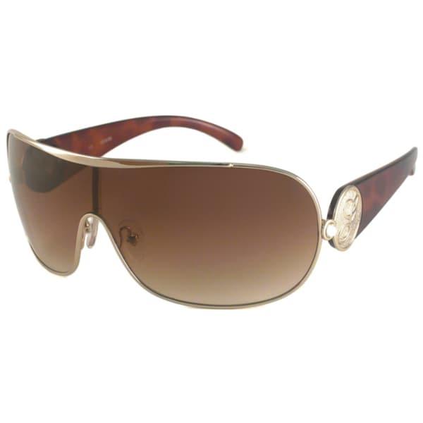 Guess Women's GU7024N Shield Sunglasses