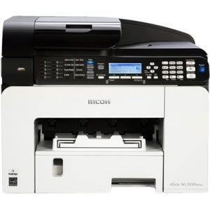 Ricoh Aficio SG 3110SFNw GelSprinter Multifunction Printer - Color -