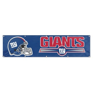 Party Animal NY Giants Banner (8' x 2')
