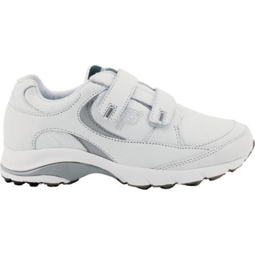 Men's Propet Journey Leather Strap White/Silver